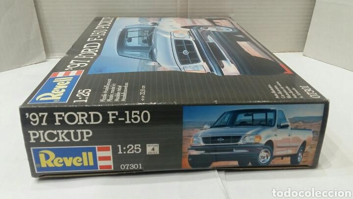 Maquetas: REVELL 97 FORD F - 150 PICKUP. NUEVO. PRECINTADO. ESCALA 1/25. REF 07301. 1996. NIVEL 4 DIFICULTAD. - Foto 8 - 195621110