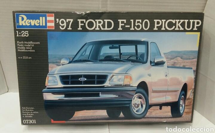 REVELL '97 FORD F - 150 PICKUP. NUEVO. PRECINTADO. ESCALA 1/25. REF 07301. 1996. NIVEL 4 DIFICULTAD. (Juguetes - Modelismo y Radiocontrol - Maquetas - Coches y Motos)
