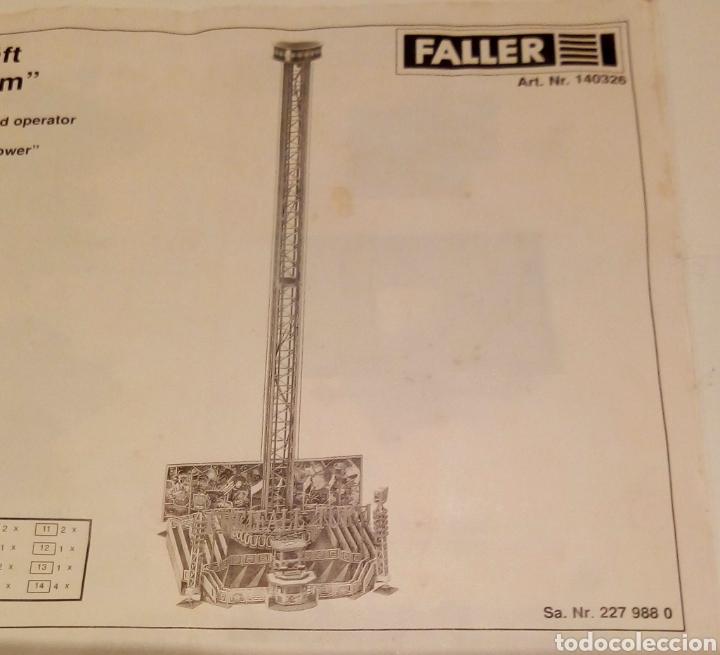 Maquetas: TORRE FERIA H0 FALLER 140326. DESCATALOGADA. 68,5CM DE ALTURA. IDEAL PARA MARKLIN ROCO... - Foto 13 - 200548237