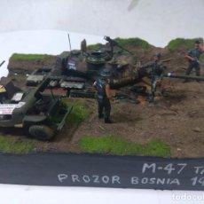 Maquetas: DIORAMA MILITAR-M 47 TANK-BOSNIA 1994. Lote 200642586