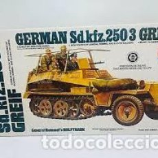 Maquetas: TAMIYA - GERMAN SD.KFZ 250/3 GREIF 1/35 MM213. Lote 201204130