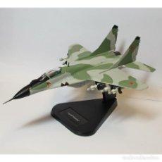 Maquetas: LOTE AVION DE METAL DE COMBATE - CAZA BOMBARDERO MIG-29 FULCRUM B SOVIETICO - ESCL 1/100. Lote 201355815