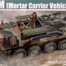 Maquetas: LOTE MAQUETA MILITAR - BLINDADO - TRUMPETER - USMC LAV M - VEHICULO CON MORTERO - ESCL 1/35. Lote 201636786