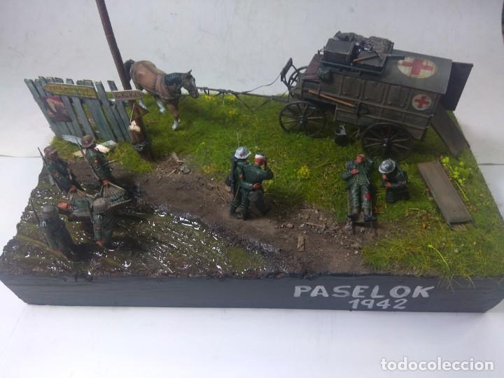 DIORAMA MAQUETA DIVISION AZUL-PASELOK 1942 (Juguetes - Modelismo y Radiocontrol - Maquetas - Militar)