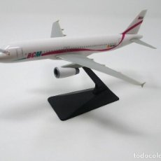Maquetas: AVIÓN AIRBUS A-320 DE LA DESAPARECIDA CÍA. DE AVIACIÓN ESPAÑOLA BCM QUE OPERÓ SÓLO EN EL AÑO 1997.. Lote 202440668