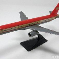 Maquetas: AVIÓN BOEING 757-200 DE LA DESAPARECIDA CÍA. DE AVIACIÓN ESPAÑOLA LTE DE 1987.. Lote 202442213
