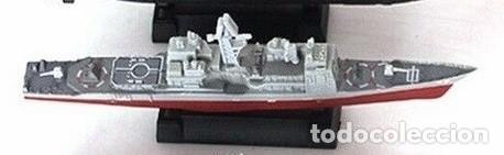 Maquetas: LOTE MAQUETA ECONOMICA BARCO / NAVIO / BUQUE - CRUCERO USS VINCENNES CG 49 - LONG 15 cm - Foto 2 - 202473400