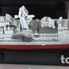 Maquetas: LOTE MAQUETA ECONOMICA BARCO / NAVIO / BUQUE - CRUCERO USS VINCENNES CG 49 - LONG 15 CM. Lote 202473900