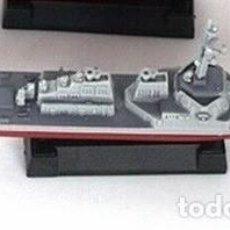 Maquetas: LOTE MAQUETA ECONOMICA BARCO / NAVIO / BUQUE - DESTRUCTOR AEGIS USS - LONG 15 CM. Lote 202478417