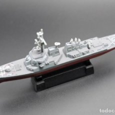 Maquetas: LOTE MAQUETA ECONOMICA BARCO / NAVIO / BUQUE - DESTRUCTOR AEGIS USS - LONG 15 CM. Lote 202478450