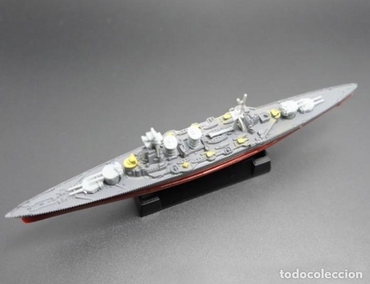 LOTE MAQUETA ECONOMICA BARCO / NAVIO / BUQUE - WWII CRUCERO HMS HOOD INGLATERRA - LONG 15 CM (Juguetes - Modelismo y Radiocontrol - Maquetas - Barcos)