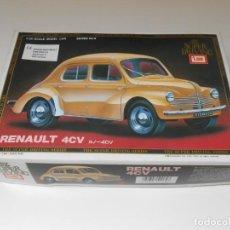 Maquetas: MAQUETA 4 CV RENAULT 1/20 ESCALA LMAI THE SUPER DRIVING 1:20 SERIES Nº 6 COCHE CAR MODEL B-2062. Lote 202568342