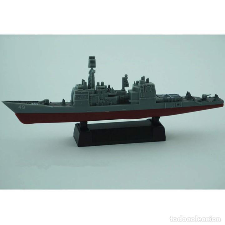 LOTE MAQUETA ECONOMICA BARCO / NAVIO / BUQUE - CRUCERO USS VINCENNES CG 49 - LONG 15 CM (Juguetes - Modelismo y Radiocontrol - Maquetas - Barcos)