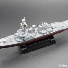 Maquetas: LOTE MAQUETA ECONOMICA BARCO / NAVIO / BUQUE - DESTRUCTOR AEGIS USS - LONG 15 CM. Lote 202772132