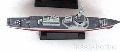 Maquetas: LOTE MAQUETA ECONOMICA BARCO / NAVIO / BUQUE - DESTRUCTOR AEGIS USS - LONG 15 CM - Foto 2 - 202772132