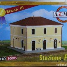 Macchiette: ESTACIÓN FS (FFCC ITALIANOS) , ÉPOCA III , ACME 30005 , ESCALA HO.. Lote 203289662