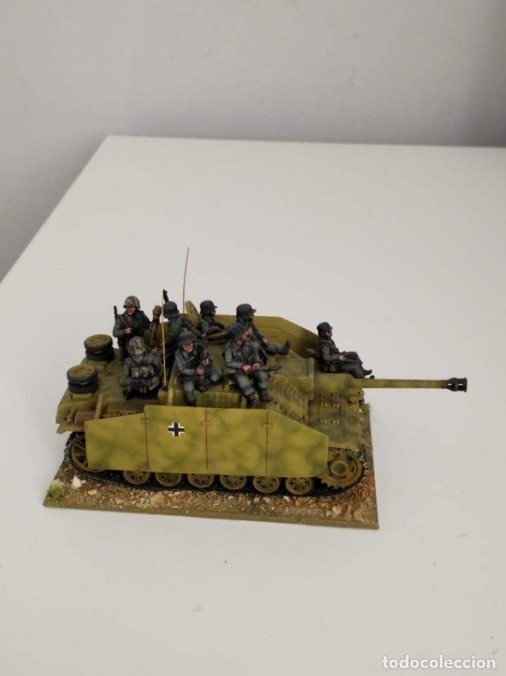 Maquetas: 20mm o 1/72 II GUERRA MUNDIAL TANQUE ALEMÁN STUG III Ausf. G 75MM (1) PINTADO EN ALTA CALIDAD - Foto 2 - 203438036