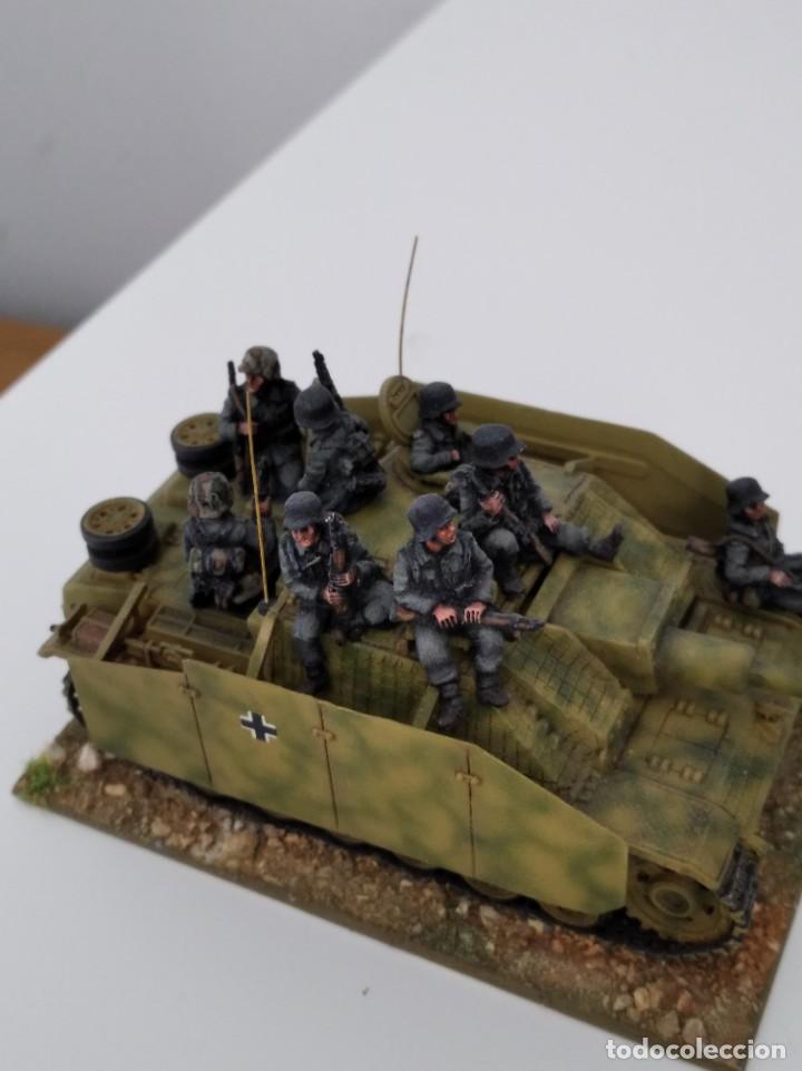 Maquetas: 20mm o 1/72 II GUERRA MUNDIAL TANQUE ALEMÁN STUG III Ausf. G 75MM (1) PINTADO EN ALTA CALIDAD - Foto 5 - 203438036
