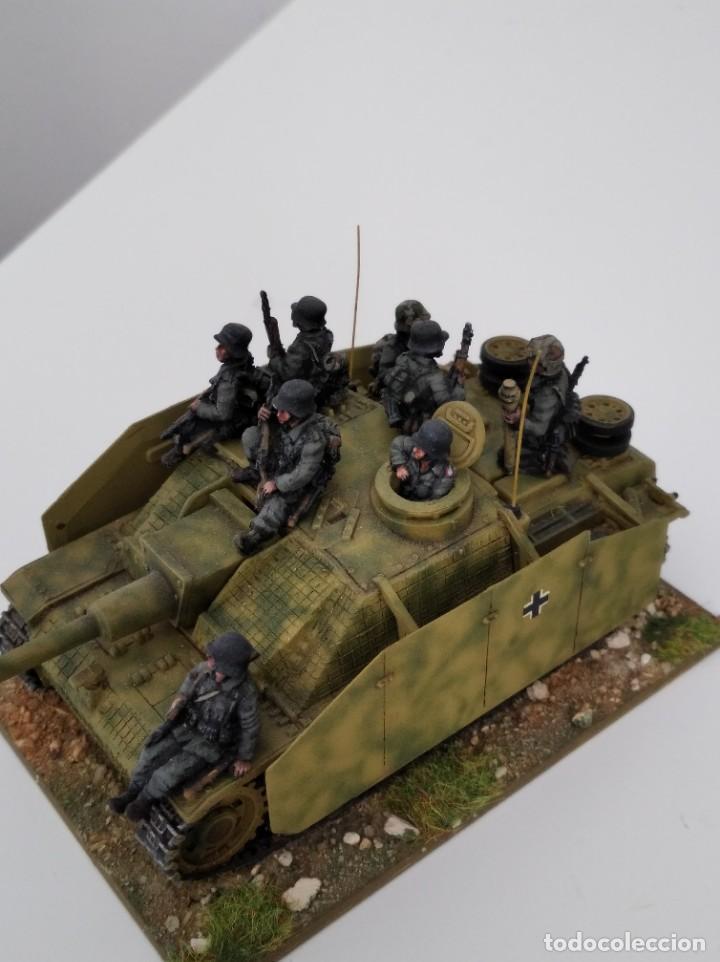 Maquetas: 20mm o 1/72 II GUERRA MUNDIAL TANQUE ALEMÁN STUG III Ausf. G 75MM (1) PINTADO EN ALTA CALIDAD - Foto 6 - 203438036