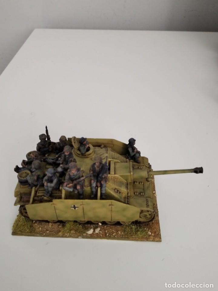 Maquetas: 20mm o 1/72 II GUERRA MUNDIAL TANQUE ALEMÁN STUG III Ausf. G 75MM (2) PINTADO EN ALTA CALIDAD - Foto 2 - 203438508