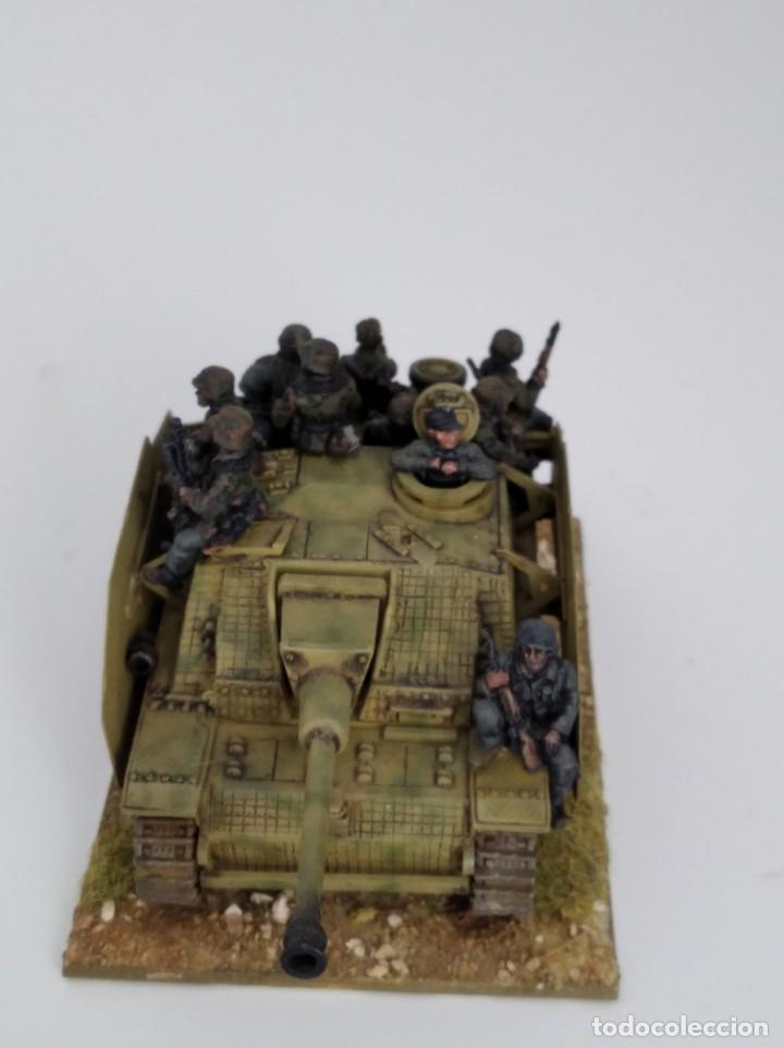 Maquetas: 20mm o 1/72 II GUERRA MUNDIAL TANQUE ALEMÁN STUG III Ausf. G 75MM (2) PINTADO EN ALTA CALIDAD - Foto 3 - 203438508
