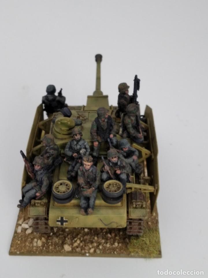Maquetas: 20mm o 1/72 II GUERRA MUNDIAL TANQUE ALEMÁN STUG III Ausf. G 75MM (2) PINTADO EN ALTA CALIDAD - Foto 4 - 203438508