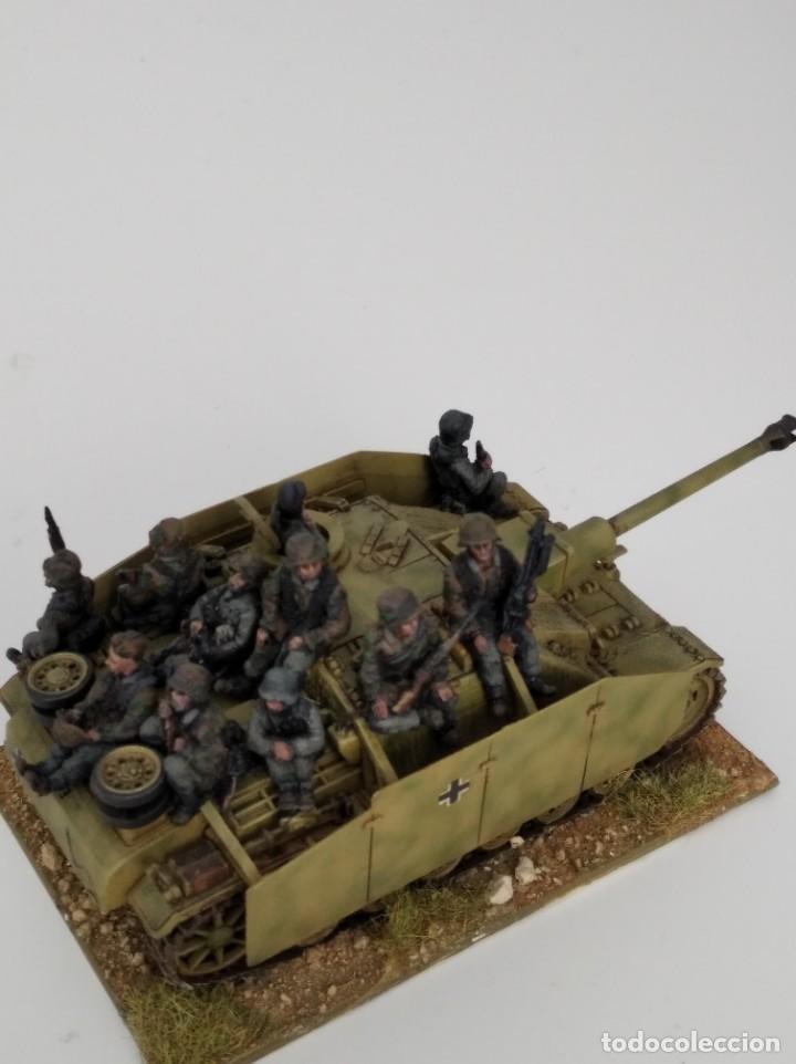 Maquetas: 20mm o 1/72 II GUERRA MUNDIAL TANQUE ALEMÁN STUG III Ausf. G 75MM (2) PINTADO EN ALTA CALIDAD - Foto 5 - 203438508