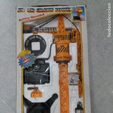 Maquetas: GRUA CONTROL REMOTO. SUPER CRANE TOWER. 90 CM. AÑOS 90.. Lote 203444673