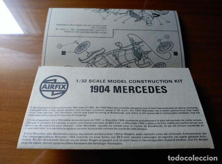 Maquetas: MAQUETA 1904 MERCEDES ESCALA 1/32 - AIRFIX SERIES 2 REF. 02449- 7 - 1978 - COMPLETO !!! - Foto 4 - 203769115