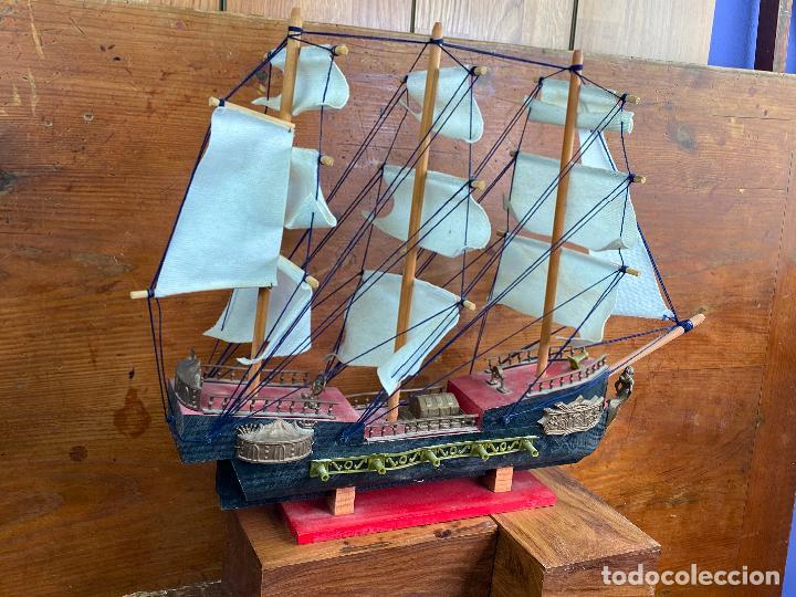 Maquetas: Maqueta de barco muy antiguo - Foto 2 - 204145975