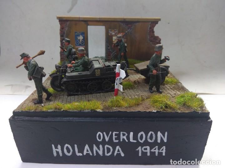 DIORAMA MILITAR MAQUETA -OVERLOON-HOLANDA 1944 (Juguetes - Modelismo y Radiocontrol - Maquetas - Militar)