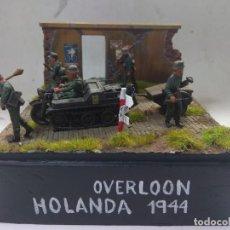 Maquetas: DIORAMA MILITAR MAQUETA -OVERLOON-HOLANDA 1944. Lote 204186336