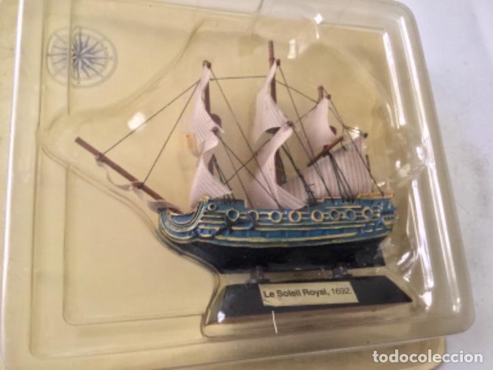 BARCO- LE SOLEIL ROYAL 1692- 9X9 CM. (Juguetes - Modelismo y Radiocontrol - Maquetas - Barcos)