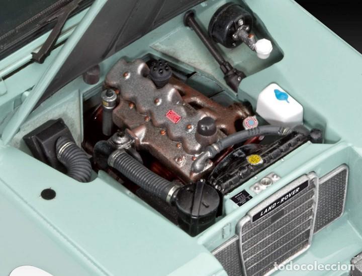 Maquetas: Land Rover 110 Series III, Escala 1:24. Maqueta a construir, detalles asombrosos, NUEVA - Foto 2 - 204533153