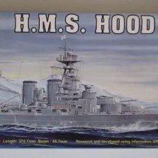 Maquetas: ACORAZADO HMS HOOD 1931 TRUMPETER 1/ 700 REF 05741 . MAQUETA NUEVA A ESTRENAR. Lote 204670580