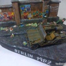 Maquetas: DIORAMA MILITAR MAQUETA-BERLIN 1982. Lote 204997567