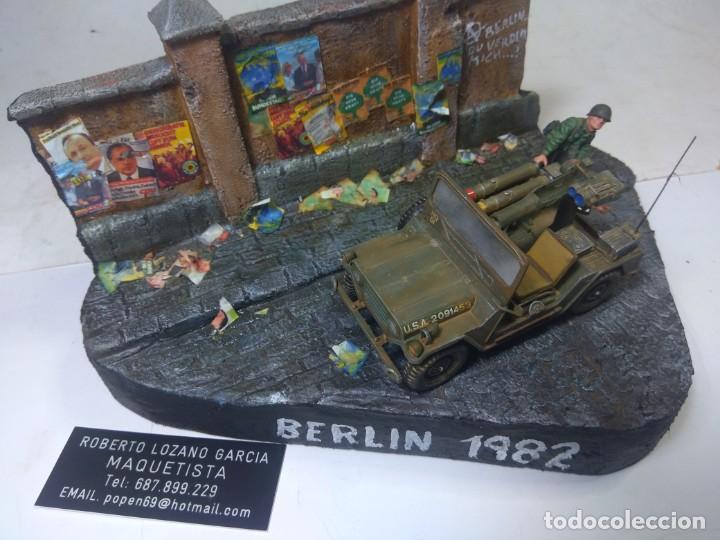 Maquetas: DIORAMA MILITAR MAQUETA-BERLIN 1982 - Foto 2 - 204997567