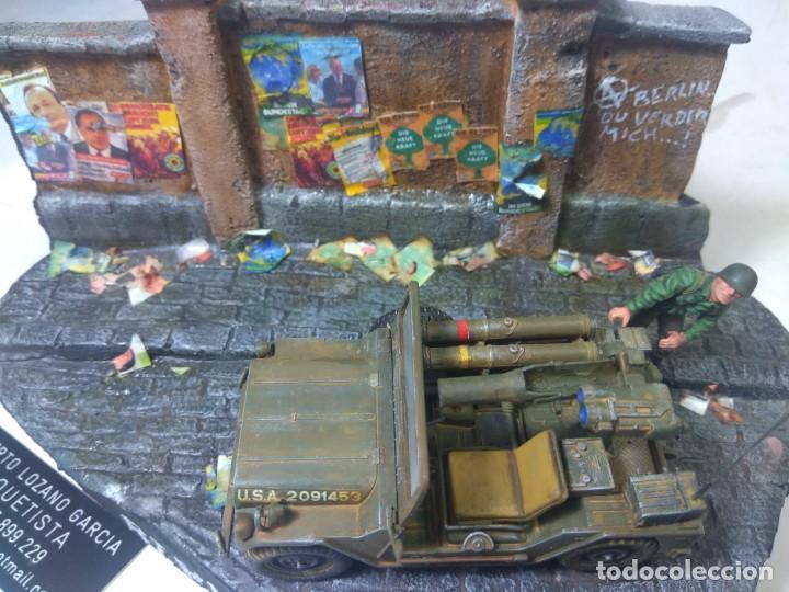 Maquetas: DIORAMA MILITAR MAQUETA-BERLIN 1982 - Foto 3 - 204997567