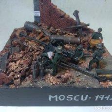 Maquetas: DIORAMA MILITAR MAQUETA -MOSCU 1942. Lote 204998200