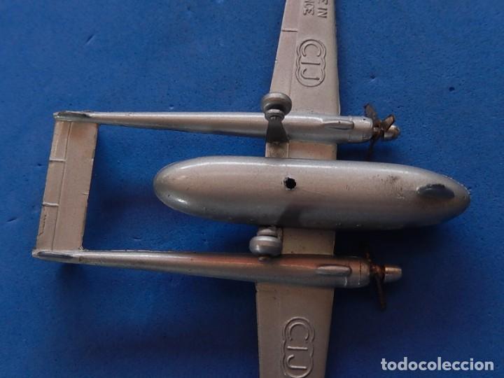 Maquetas: Pequeño avión metálico. Noratlas. N 2501. CIJ. Fabricado en Francia. - Foto 3 - 205039481