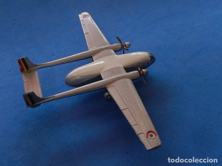 Maquetas: Pequeño avión metálico. Noratlas. N 2501. CIJ. Fabricado en Francia. - Foto 10 - 205039481