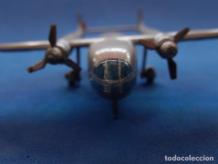 Maquetas: Pequeño avión metálico. Noratlas. N 2501. CIJ. Fabricado en Francia. - Foto 11 - 205039481