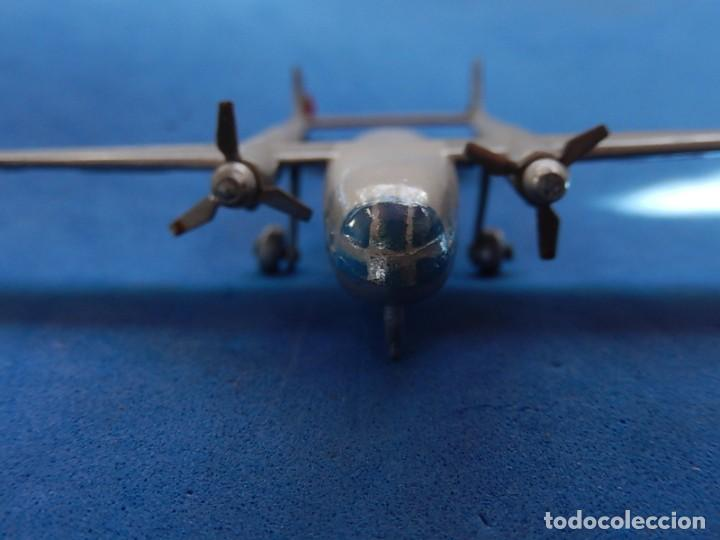 Maquetas: Pequeño avión metálico. Noratlas. N 2501. CIJ. Fabricado en Francia. - Foto 12 - 205039481