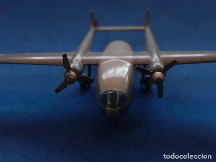 Maquetas: Pequeño avión metálico. Noratlas. N 2501. CIJ. Fabricado en Francia. - Foto 14 - 205039481