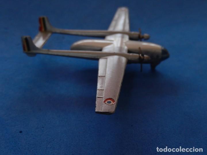 Maquetas: Pequeño avión metálico. Noratlas. N 2501. CIJ. Fabricado en Francia. - Foto 17 - 205039481