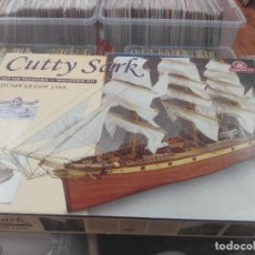 Maquetas: CUTTY SARK DUMBARTON 1869 WOOD SAILING SHIP MODEL KIT. Lote 205170803