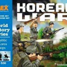Macchiette: 530 IMEX 1/72 REPUBLIC OF KOREA TROOPS. ( KOREAN WAR ) SELLADO / SEALED. Lote 205327030