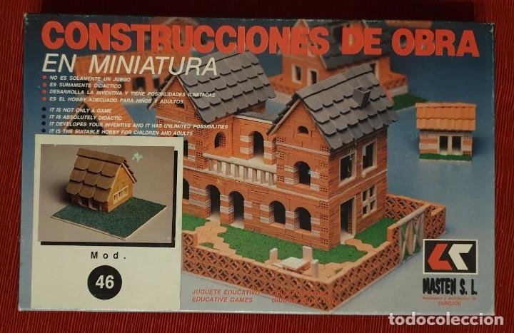 CONTRUCCIONES DE OBRA MASTEN MOD.46 (Juguetes - Modelismo y Radiocontrol - Maquetas - Construcciones)