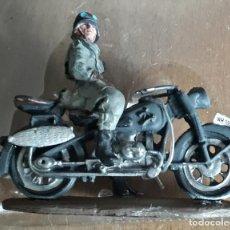 Maquetas: SOLDADOS FELDGENDARMERIE BMW R75 COL MOTO SEGUNDA GUERRA MUNDIAL. Lote 244724400