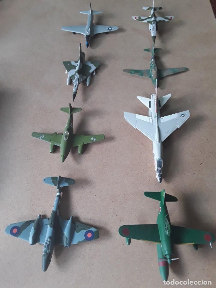 LOTE DE 8 MAQUETAS DE AVIONES ESCALA 1/100 (Juguetes - Modelismo y Radio Control - Maquetas - Aviones y Helicópteros)